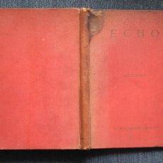 Coleccionismo deportivo: AJEDREZ , ECHO (PROBLEMAS CHESS CHRISTMAS SERIES) DEDRLE. Lote 109176151
