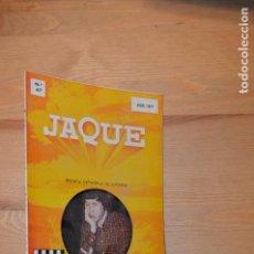 Coleccionismo deportivo: REVISTA DE AJEDREZ JAQUE CHESS Nº 67 JULIO 1977. Lote 111737963