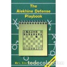 Coleccionismo deportivo: AJEDREZ. CHESS. THE ALEKHINE DEFENSE PLAYBOOK - TIM SAWYER. Lote 112373851