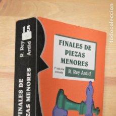 Coleccionismo deportivo: AJEDREZ. FINALES DE PIEZAS MENORES - REY ARDID. Lote 112932127