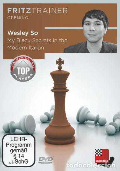 Coleccionismo deportivo: Ajedrez. Chess. My Black Secrets in the Modern Italian - Wesley So DVD - Foto 1 - 113028891