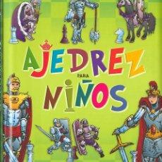Coleccionismo deportivo: CHESS. AJEDREZ PARA NIÑOS (CARTONÉ). Lote 114482391