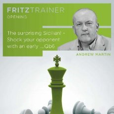 Coleccionismo deportivo: AJEDREZ. CHESS. THE SURPRISING SICILIAN! - SHOCK YOUR OPPONENT WITH AN EARLY ....QB6 - ANDREW MARTIN. Lote 115123275