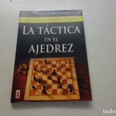 Coleccionismo deportivo: VIKTOR MOSKALENKO .EJERCICIOS PRÁCTICOS. LA TÁCTICA EN AJEDREZ.. Lote 115259831
