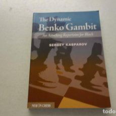 Coleccionismo deportivo: THE DYNAMIC BENKO GAMBIT. SERGEY KASPAROV. Lote 115259971