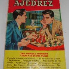 Coleccionismo deportivo: (TC-116) LIBRO AJEDREZ DE COLECCION PRACTICA 1 EDICION 1955. Lote 115284995