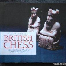 Coleccionismo deportivo: AJEDREZ BRITISH CHESS BOTTERILL & LEVY & RICE & RICHARDSON 1983 RARO. Lote 115564051