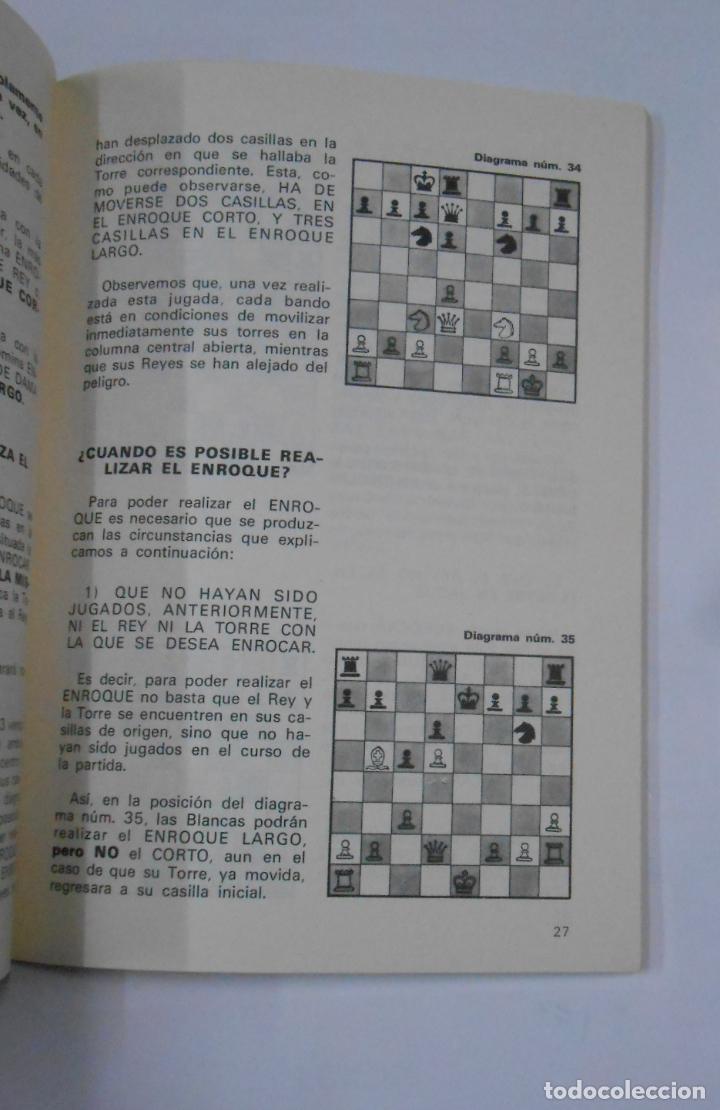 Coleccionismo deportivo: Cartilla de ajedrez. - TORAN, Román. 2ª EDICIÓN. TDK337 - Foto 2 - 116308323