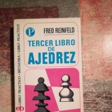 Coleccionismo deportivo: TERCER LIBRO DE AJEDREZ - FRED REINFELD. Lote 116637703
