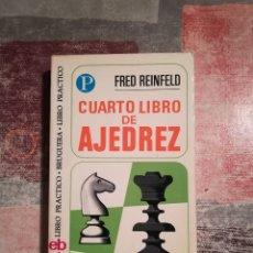 Coleccionismo deportivo: CUARTO LIBRO DE AJEDREZ - FRED REINFELD. Lote 116637803