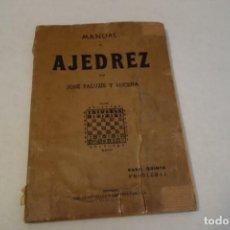 Coleccionismo deportivo: MANUAL DE AJEDREZ. POR PALUZIE Y LUCENA. PARTE QUINTA PROBLEMAS. Lote 117314759