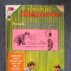 Coleccionismo deportivo: AJEDREZ RARO COMIC DEL MATCH FISCHER SPASSKY 1972. ESTRELLAS DEL DEPORTE NOVARO. Lote 117353231