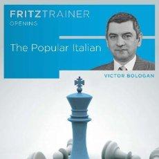 Coleccionismo deportivo: AJEDREZ. CHESS. THE POPULAR ITALIAN - VICTOR BOLOGAN DVD. Lote 117440939