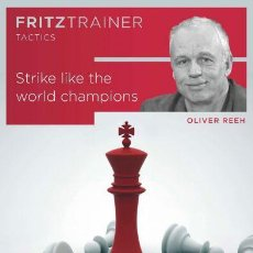 Coleccionismo deportivo: AJEDREZ. CHESS. STRIKE LIKE THE WORLD CHAMPIONS - OLIVER REEH DVD. Lote 117583331