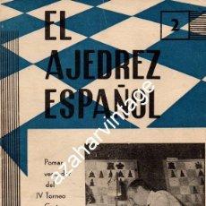 Coleccionismo deportivo: REVISTA: EL AJEDREZ ESPAÑOL 2 Nº 93: POMAR, VENCEDOR DEL IV TORNEO COSTA DEL SOL (FEBRERO 1964). Lote 118150491