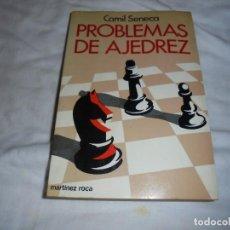Coleccionismo deportivo: PROBLEMAS DE AJEDREZ.CAMIL SENECA.MARTINEZ ROCA 1984. Lote 119549075