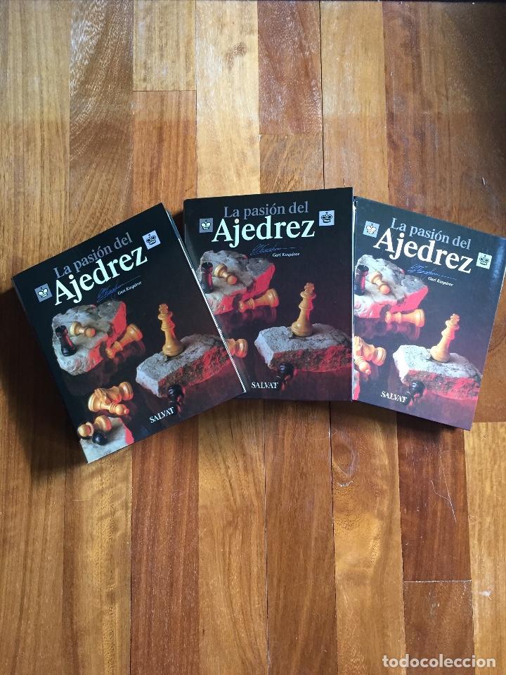 LA PASIÓN DEL AJEDREZ. GARI KASPAROV. COLECCIÓN COMPLETA. SALVAT (Coleccionismo Deportivo - Libros de Ajedrez)