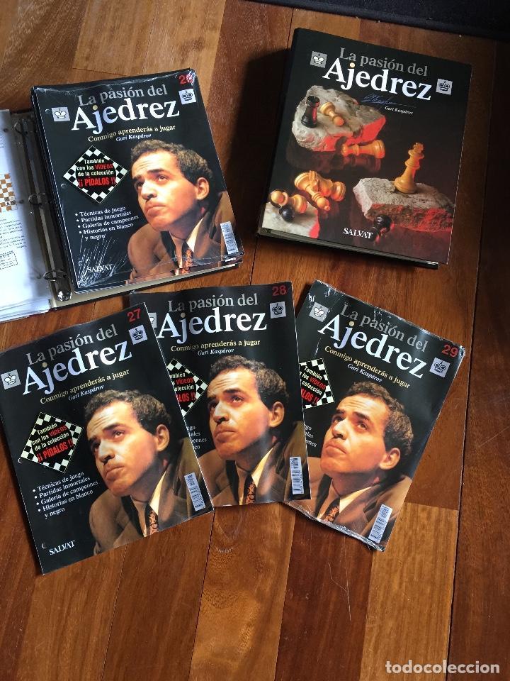 Coleccionismo deportivo: La Pasión del Ajedrez. Gari Kasparov. Colección COMPLETA. Salvat - Foto 2 - 119552679