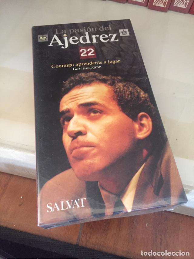 Coleccionismo deportivo: La Pasión del Ajedrez. Gari Kasparov. Colección COMPLETA. VHS (25) Salvat - Foto 2 - 119553939