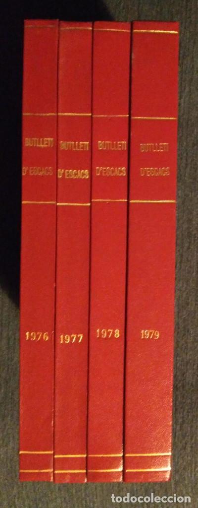 Coleccionismo deportivo: Ajedrez Butlleti D'Escacs 4 Primeros Años 1976-1979 ed. Lujo chess - Foto 2 - 120255535