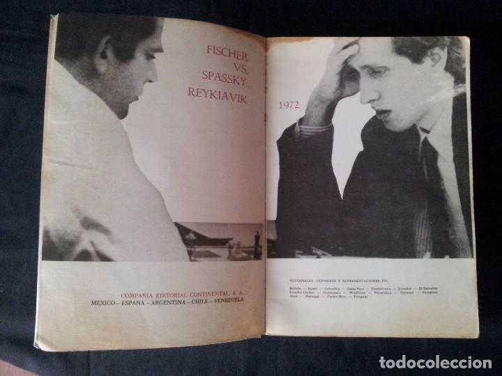 Coleccionismo deportivo: C.H.O.D. ALEXANDER - FISCHER vs. SPASSKY REYKIAVIK 1972 - C.E.C.S.A - PRIMERA EDICION 1972 - Foto 3 - 121280191