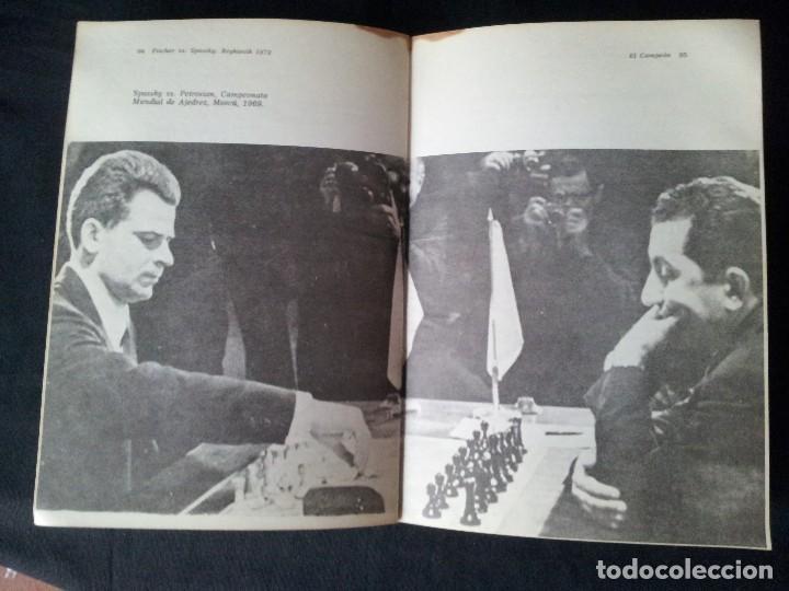 Coleccionismo deportivo: C.H.O.D. ALEXANDER - FISCHER vs. SPASSKY REYKIAVIK 1972 - C.E.C.S.A - PRIMERA EDICION 1972 - Foto 6 - 121280191