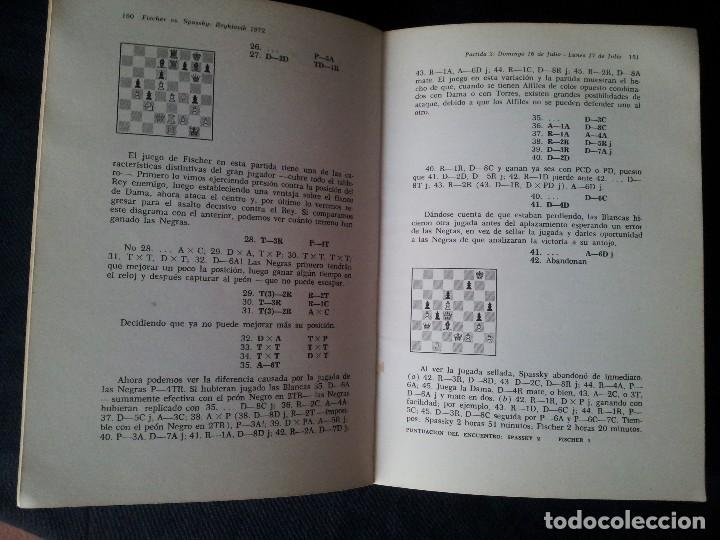 Coleccionismo deportivo: C.H.O.D. ALEXANDER - FISCHER vs. SPASSKY REYKIAVIK 1972 - C.E.C.S.A - PRIMERA EDICION 1972 - Foto 7 - 121280191