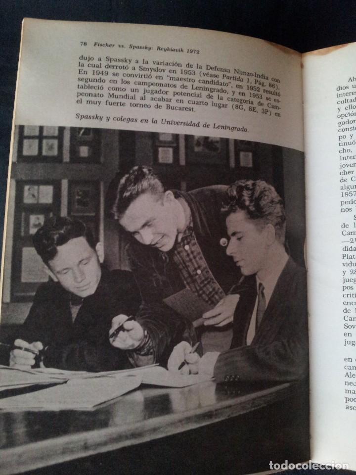 Coleccionismo deportivo: C.H.O.D. ALEXANDER - FISCHER vs. SPASSKY REYKIAVIK 1972 - C.E.C.S.A - PRIMERA EDICION 1972 - Foto 8 - 121280191