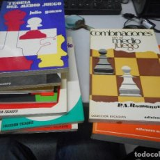 Coleccionismo deportivo: COLECCION 9 LIBROS AJEDREZ. Lote 122298795