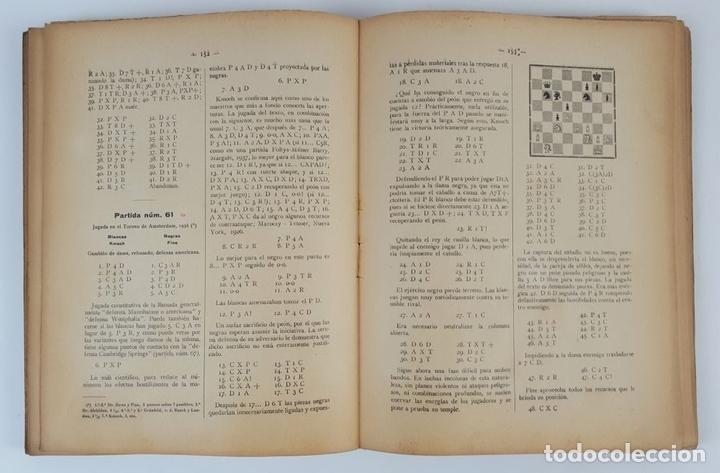 Coleccionismo deportivo: CIEN NUEVAS PARTIDAS DE AJEDREZ. DR RAMÓN REY ARDID. ZARAGOZA. 1940. - Foto 5 - 123183643