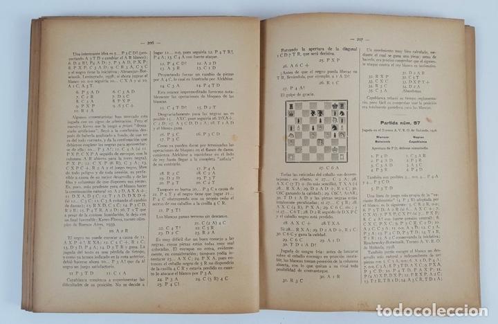 Coleccionismo deportivo: CIEN NUEVAS PARTIDAS DE AJEDREZ. DR RAMÓN REY ARDID. ZARAGOZA. 1940. - Foto 7 - 123183643