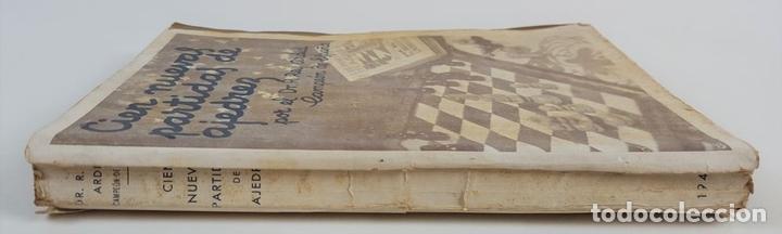 Coleccionismo deportivo: CIEN NUEVAS PARTIDAS DE AJEDREZ. DR RAMÓN REY ARDID. ZARAGOZA. 1940. - Foto 8 - 123183643