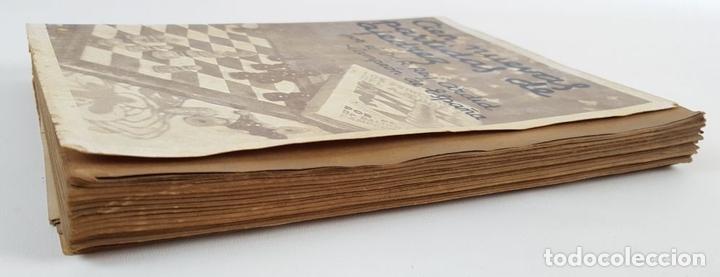 Coleccionismo deportivo: CIEN NUEVAS PARTIDAS DE AJEDREZ. DR RAMÓN REY ARDID. ZARAGOZA. 1940. - Foto 10 - 123183643