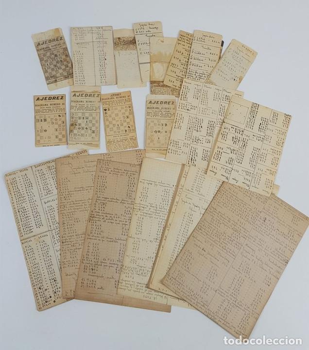 Coleccionismo deportivo: CIEN NUEVAS PARTIDAS DE AJEDREZ. DR RAMÓN REY ARDID. ZARAGOZA. 1940. - Foto 11 - 123183643