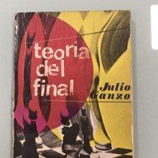 Coleccionismo deportivo: TEORÍA DEL FINAL , DE JULIO GANZO EDITORIAL RICARDO AGUILERA 3ª EDICIÓN 1973 . Lote 124273331