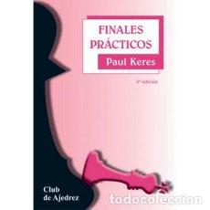 Coleccionismo deportivo: AJEDREZ. FINALES PRÁCTICOS - PAUL KERES. Lote 124483679
