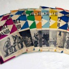 Coleccionismo deportivo: EL AJEDREZ ESPAÑOL. 1962. LOTE DE 8 EJEMPLARES. Lote 125305619