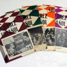 Coleccionismo deportivo: EL AJEDREZ ESPAÑOL. 1963. LOTE DE 4 EJEMPLARES. Lote 125305655
