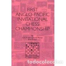 Coleccionismo deportivo: AJEDREZ. FIRST ANGLO PACIFIC INVITATIONAL CHESS CHAMPIONSHIP CORRESPONDENCE - ERIK OSBUN DESCATALOGA. Lote 126820775