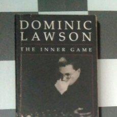 Coleccionismo deportivo: ♔♕ AJEDREZ LAWSON THE INNER GAME: SHORT V. KASPAROV CHESS. Lote 128350119