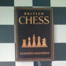 Coleccionismo deportivo: ♔♕ AJEDREZ BRITISH CHESS KENNETH MATTHEWS. Lote 128370631