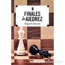 Coleccionismo deportivo: FINALES DE AJEDREZ - MIGUEL ILLESCAS. Lote 128707383