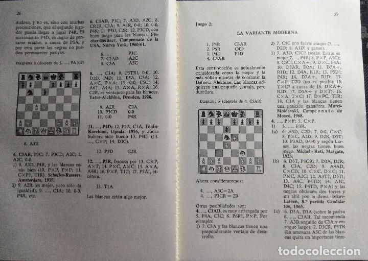 Coleccionismo deportivo: Libro ajedrez Aperturas semiabiertas - Foto 3 - 128862647
