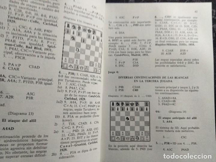 Coleccionismo deportivo: Libro ajedrez Aperturas semiabiertas - Foto 4 - 128862647