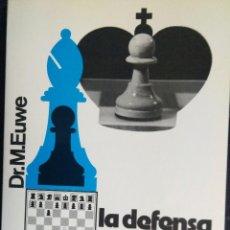 Colecionismo desportivo: LIBRO AJEDREZ LA DEFENSA CARO-KANN. Lote 129022123