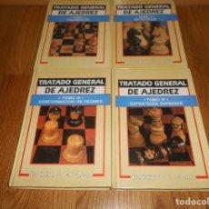 Coleccionismo deportivo: TRATADO GENERAL DE AJEDREZ 4 TOMOS. ROBERTO G. GRAU. EDITORIAL SOPENA 1982.. Lote 129292191