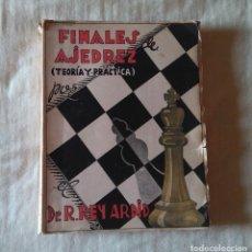 Coleccionismo deportivo: ♔♕ AJEDREZ : FINALES DE AJEDREZ I (PEONES) , REY ARDID CHESS SCHACH. Lote 130272382