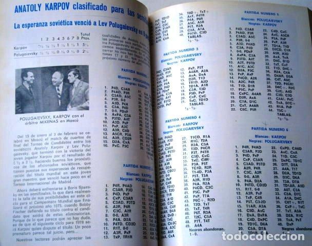 Coleccionismo deportivo: Jaque: Revista Española de Ajedrez / Año IV Completo Enero-Diciembre en San Sebastián 1974 - Foto 2 - 130827956