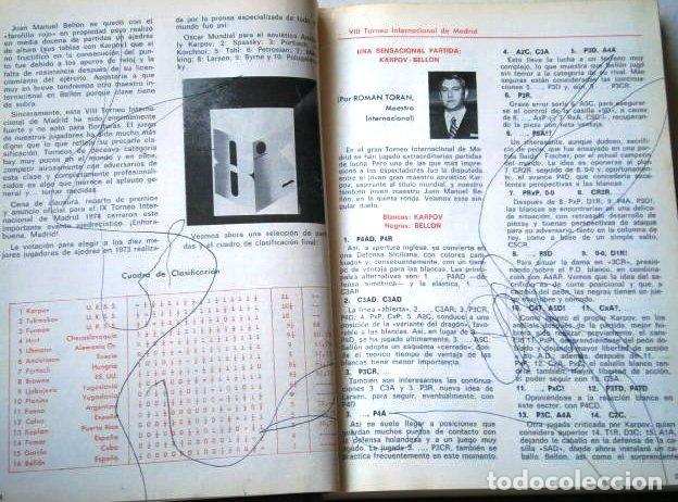 Coleccionismo deportivo: Jaque: Revista Española de Ajedrez / Año IV Completo Enero-Diciembre en San Sebastián 1974 - Foto 3 - 130827956