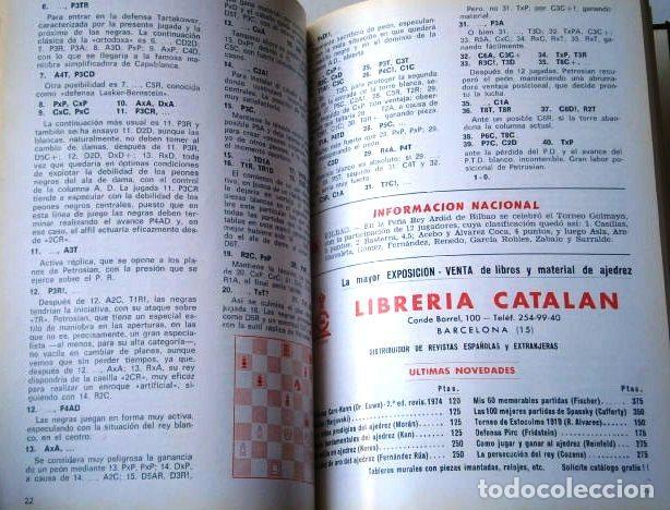 Coleccionismo deportivo: Jaque: Revista Española de Ajedrez / Año IV Completo Enero-Diciembre en San Sebastián 1974 - Foto 4 - 130827956